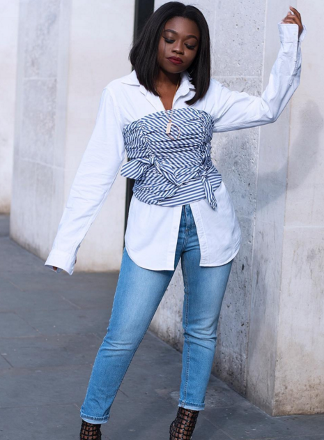 5 SIMPLE, STYLISH WAYS TO REINVENT THE PLAIN WHITE BLOUSE