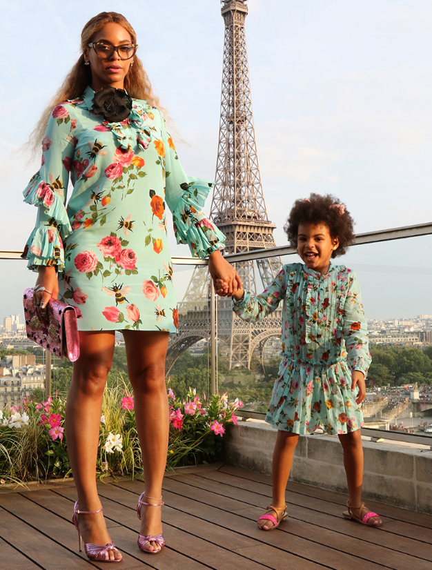 SEE BEYONCÉ AND BLUE IVY'S BEST MUMMY-AND-ME MOMENTS IN MATCHING OUTFITS