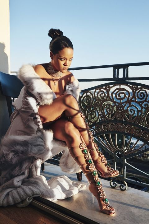 YOUR FIRST LOOK AT THE RIHANNA X MANOLO BLAHNIK 'SO STONED' SHOE COLLECTION