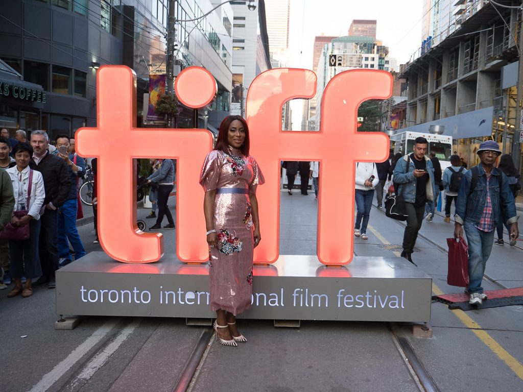 MO ABUDU FLIES THE NIGERIAN FLAG IN STYLE AT #TIFF17