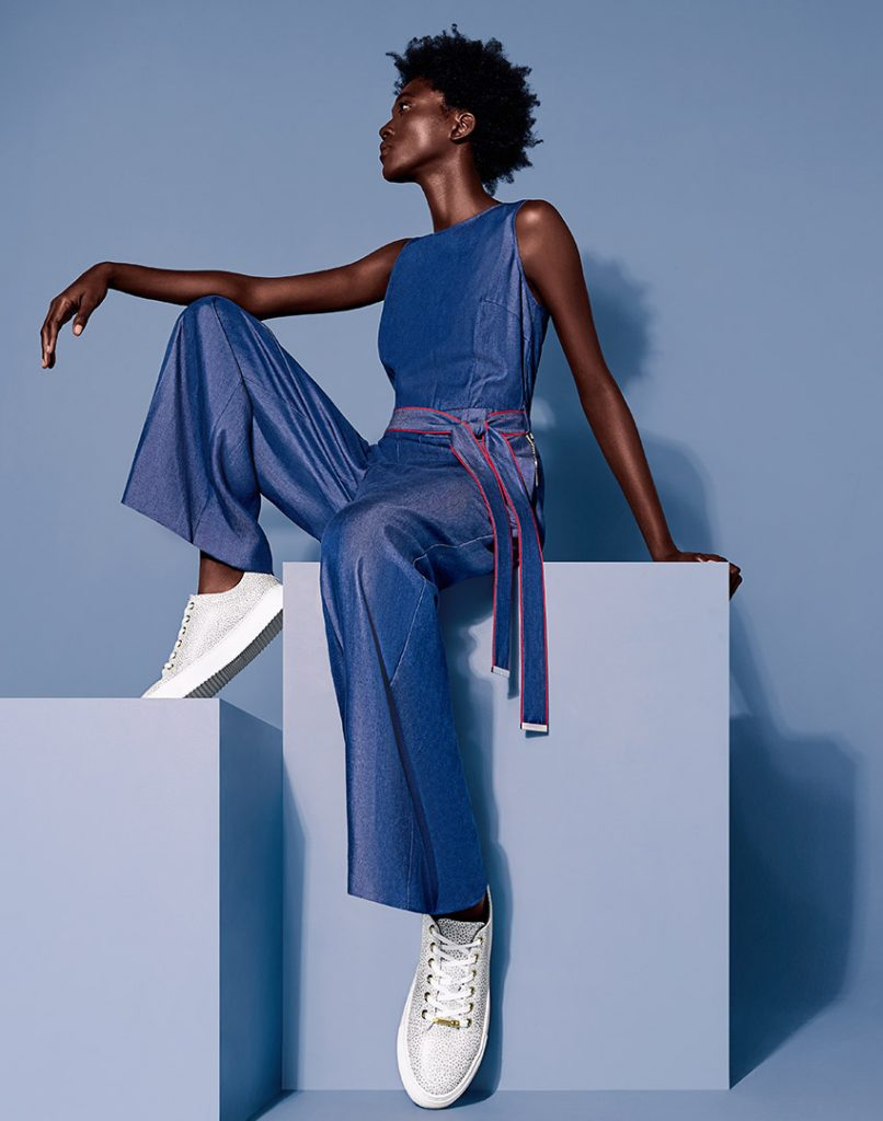 TED BAKER ACCESSORIES UNVEILS NIGERIAN MODEL ADEMIDE IKUMOLA AS ITS NEW FACE
