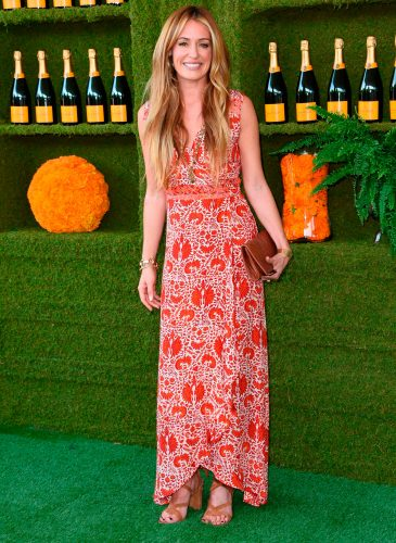Cat Deeley attends the 8th annual Veuve