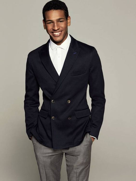 #SCHICK MAN: MODEL TIDIOU M'BAYE IS COMING UP IN HIS OWN WAY