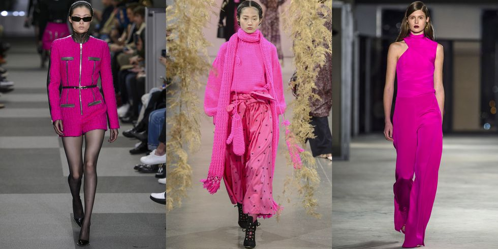 THESE ARE THE TRENDS SPROUTING OUT OF FASHION WEEK FALL 2018