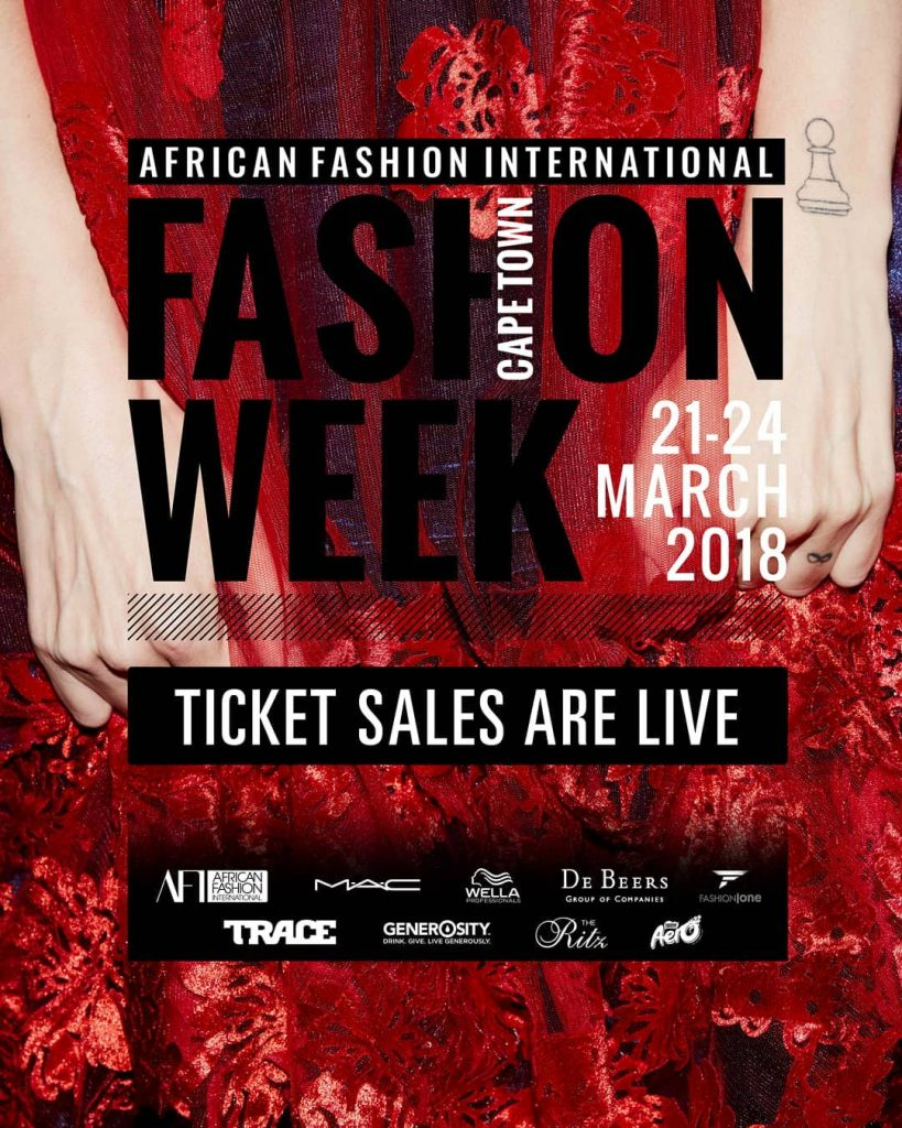 AFI CAPE TOWN FASHION WEEK WILL SHOWCASE EXCEPTIONAL AFRICAN TALENT