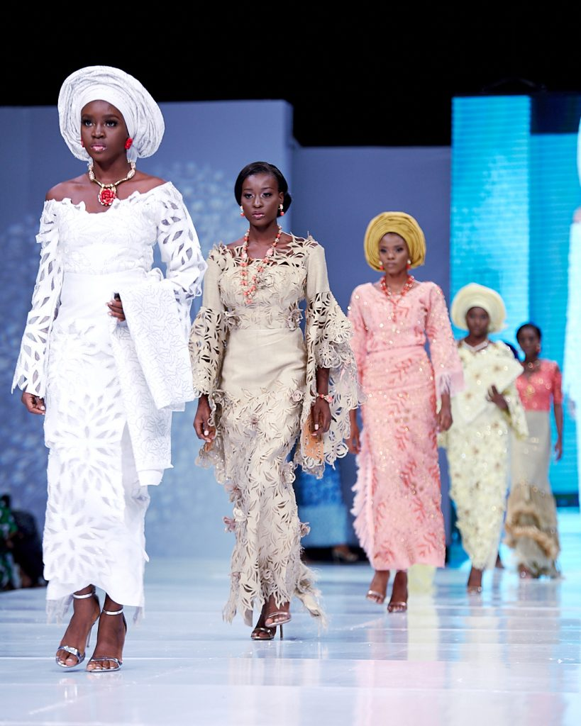 THE BEST LOOKS FROM DAY 2 OF LAGOS BRIDAL FASHION WEEK 2018