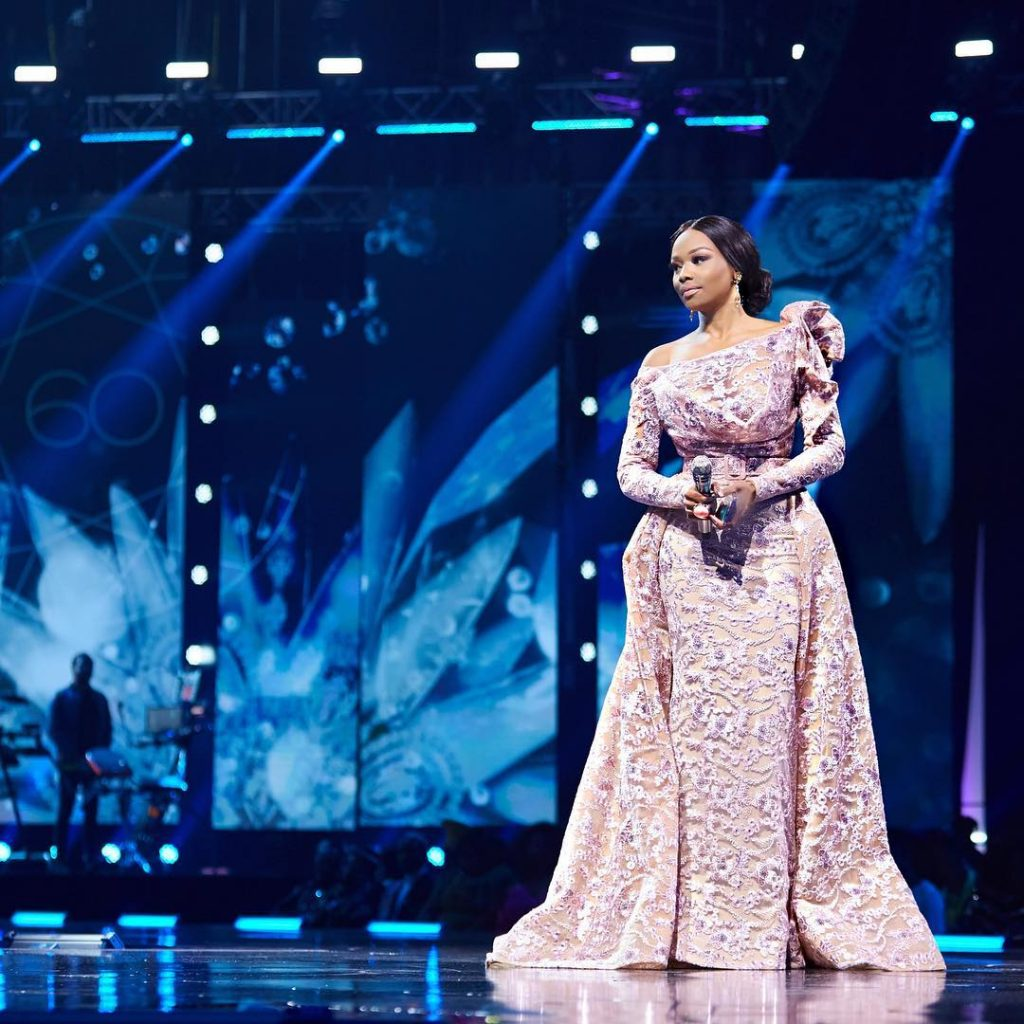 THE HOST WITH THE MOST! BONANG MATHEBA CHANGED INTO 5 STUNNING LOOKS AT #MISSSOUTHAFRICA2018