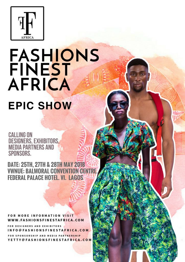 FASHIONS FINEST AFRICA ANNOUNCES NEW SHOW DATES