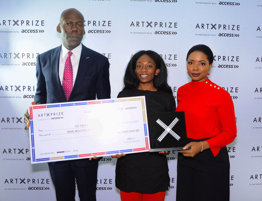 ART X LAGOS ANNOUNCES THE WINNER OF THE ART X PRIZE WITH ACCESS 2018!
