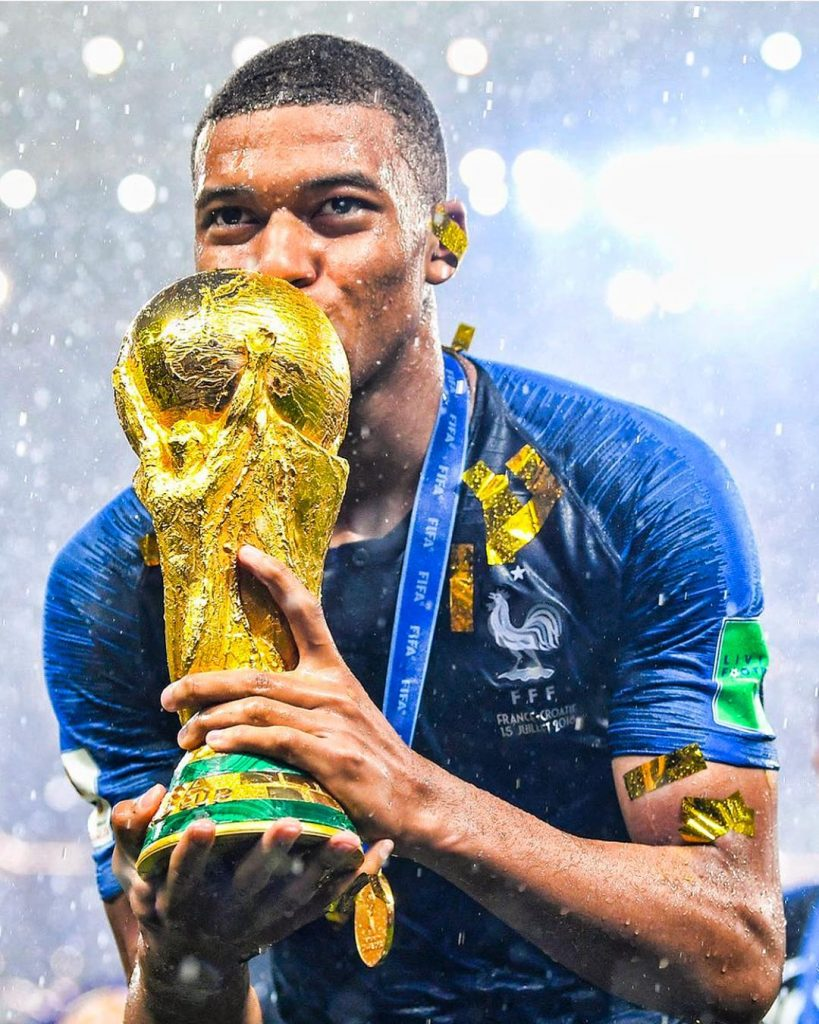 #SCHICKMAN: CAMEROONIAN-ALGERIAN KYLIAN MBAPPÉ MAKES HISTORY AT #WORLDCUPRUSSIA2018