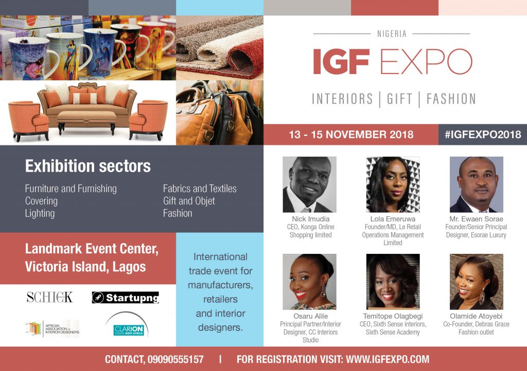 REGISTER FOR THE IGF EXPO 2018: THE FOREMOST B-2-B TRADING PLATFORM FOR MANUFACTURERS AND SUPPLIERS OF INTERIORS, GIFT AND FASHION!
