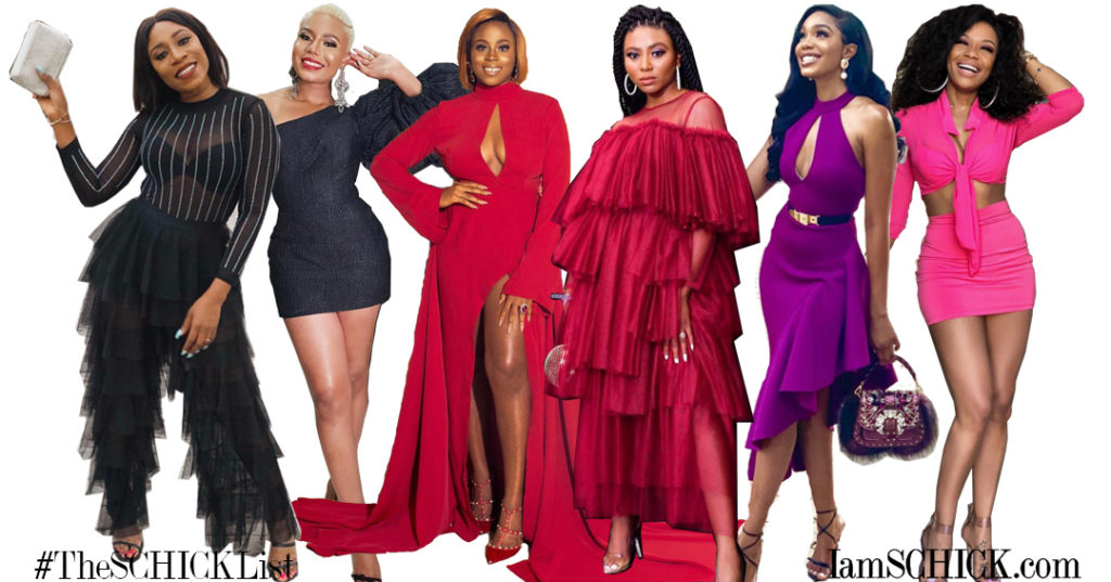 #THESCHICKLIST: SHARON, NANCY, AYANDA AND MORE! SEE OUR BEST DRESSED AFRICAN STARS OF THE WEEK
